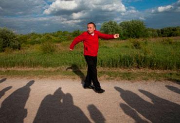 Zu Fuß | Emscher Blut | Bildnachweis: Jürgen Diemer